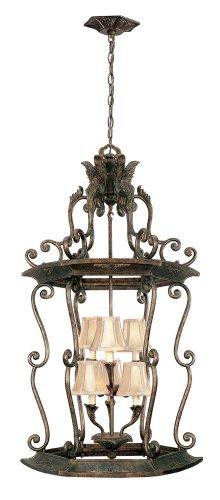 World Imports Lighting 3106-63 Avignon 6-Light Foyer Lantern, French Bronze