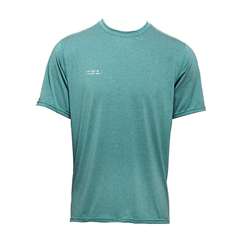 WETSOX (50+ UPF Sun Protection & UV Cooling Shirt/Short Sleeve/Moisture Wicking Green