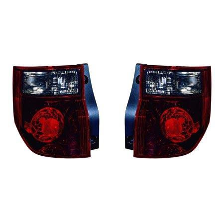 (Honda Element 2007-2008 Tail Light Unit SC Model Pair Driver and Passenger Side HO2818136, HO2819136)