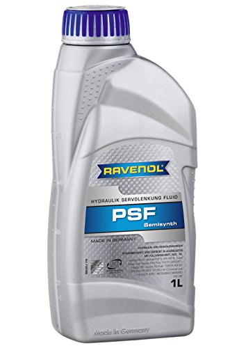RAVENOL J1B1031 Power Steering Fluid - PSF Semi-Synthetic Hydraulic Fluid (1 Liter)
