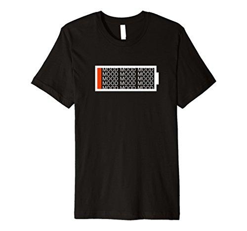 Mens Shane Dawson 1% Mood T-Shirt (Black) Small Black