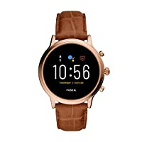 Deals on Fossil Gen 5 Julianna Stainless Steel Touch Smartwatch w/Speaker