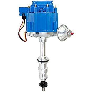 amazon com top street performance jm6508bl hei distributor with Ford Model A Wiring Diagram a team performance 65k coil hei complete distributor compatible with ford fe 352 390 427 428 1 wire instillation