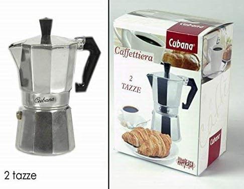 CAFETERA CUBANA 2 TAZAS 726300A: Amazon.es: Hogar