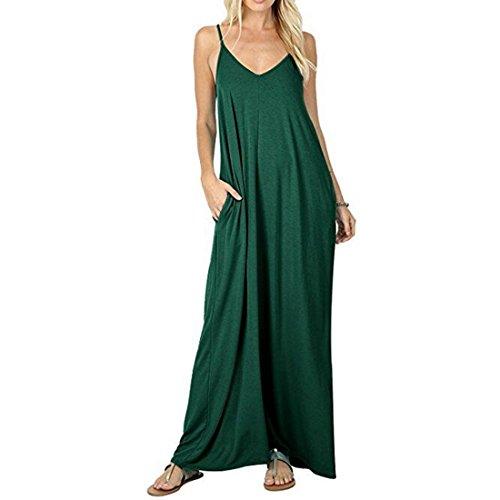 XXL M L Courtes Robe Manches Femme Manches XL Green Black Longues dcontracte S qUnT4a