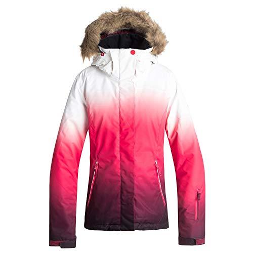 (Roxy Jet Ski Se Womens Snow Jacket Small Tea Berry)