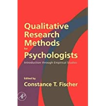 Qualitative Research Methods for Psychologists: Introduction through Empirical Studies