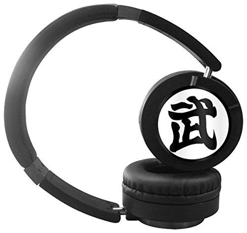 Goku Gt Costume (Goku Vegeta Custom Stylish Adjustable Stereo Wireless Headphones Portable Noise Reduction Headset, Folding Headphones -)