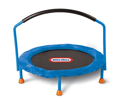 Little Tikes 3' Trampoline - Amazon Exclusive (Little People Jump And Play Swing Set)