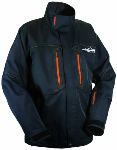 HMK Men's Cascade 3 Layer Shell Jacket (Black, XX-Large Tall) Ballistic Windproof Fleece