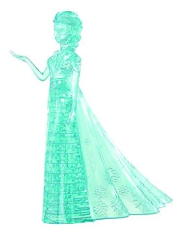 BePuzzled Original 3D Crystal Elsa Frozen Puzzle (32 Piece), Blue