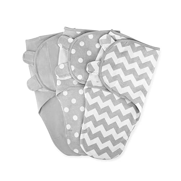 Swaddle Blanket Baby Girl Boy Easy Adjustable 3 Pack Infant Sleep Sack Wrap Newborn Babies S/M