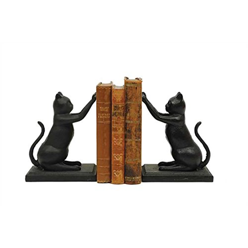 Compare Price Cast Iron Animal Bookends On