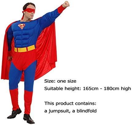 Wldsh Cospaly Super Héros Rôle Superman Muscle Modélisation