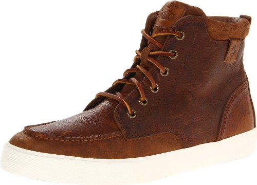 Polo Ralph Lauren Men's Tedd Fashion Boot,Tan/Snuff,13 D US