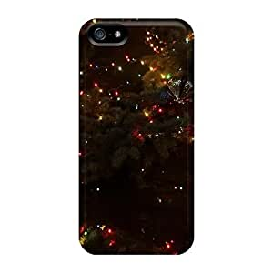 High Grade Saraumes Flexible Case For Iphone 5/5s - A Sparkling Christmas