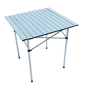 MHO Mesa plegable para exterior plegable de camping plegable ...