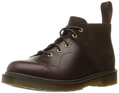 Dr. Martens Men's Church Brando+Hi Suede Wp Chukka Boot, Charro+Dark Brown, 9 UK/10 M US (Church Monkey Boot)