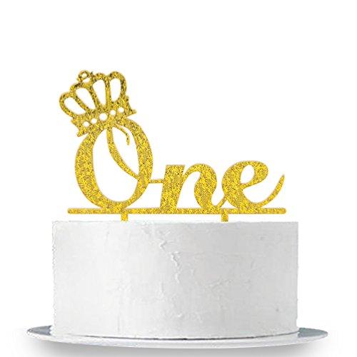 Happy Birthday Cake Topper First Birthday Cupcake Topper Cake ...