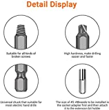 Be91eiter Damaged Stripped Screw Extractor Set