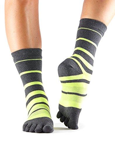 ToeSox Casual Crew Toe Socks (Varsity) Small