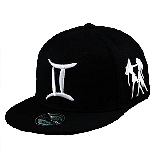 BestWare Hip Hop Cap Baseball Cap Constellation Hat Snapback Hats Zodiac Hats Gemini