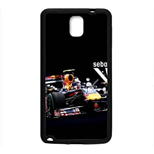 LINGH Sebastian Vettel Red Bull Black Phone Case for Samsung Galaxy Note3