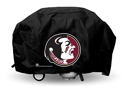 21 Grill (NCAA Florida State Seminoles Deluxe Grill Cover, 68 x 21 x 35-Inch, Black)