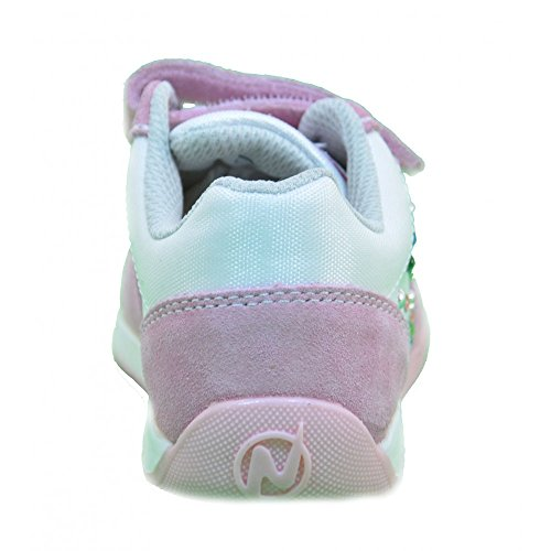 Naturino - Naturino Scarpe Bambina Rosa Pelle Tela Strappi Sport 428 - Rosa, 28