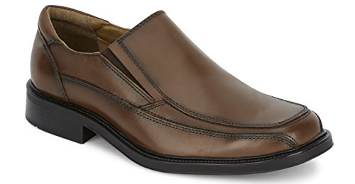 Dockers Men's Proposal Leather Slip-On Dress Loafer Shoe, Tan, 14 D(M) US