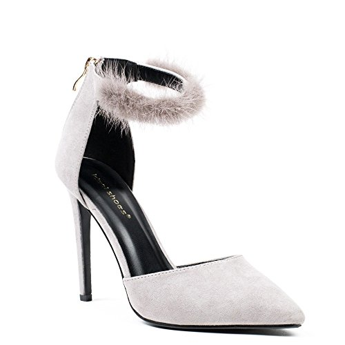 Damen Grau Pumps Ideal Ideal Grau Shoes Pumps Damen Shoes nFFrEfqY