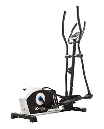 XTERRA Fitness FS150 Elliptical Trainer Equipment, 50″ x 23″ 64.2″, Black