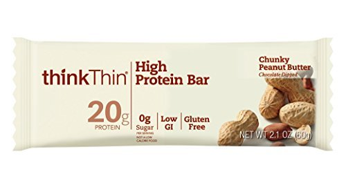 thinkThin High Chunky Protein Bars 2.1 Chunky Peanut Butter Count) 2.1 oz Bar (30 Count) [並行輸入品] B07N4NJB84, 快適あっと暮らし:b4657e3e --- ijpba.info