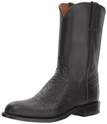 Lucchese Bootmaker Men's Mac Western Boot, Black, 13 D (Mac Boot)