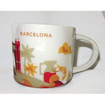 Starbucks 39 you are here 39 yah city mug for Mug barcelona