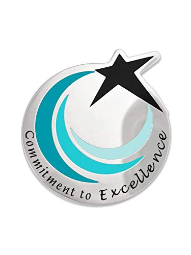 (PinMart Commitment to Excellence Recognition Service Star Lapel Pin)