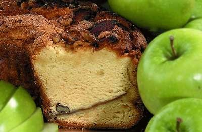 My Grandma's Granny Smith Apple Coffee Cake (Granny Smith Walnut Cake)