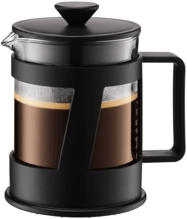 Amazon.com: Bodum Crema 4-Cup French Press Cafetera ...