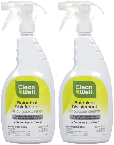 CleanWell Botanical Disinfectant - All Purpose Cleaner - 26