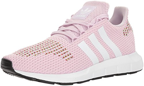 adidas Originals Women's Swift W Running-Shoes,aero pink/white/core black,6 M US