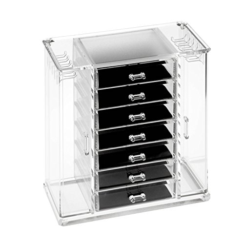 - HCD Refined by Honey-Can-Do STO-06383 Arielle Jewelry Chest, 12.1L x 7.2W x 12.4H