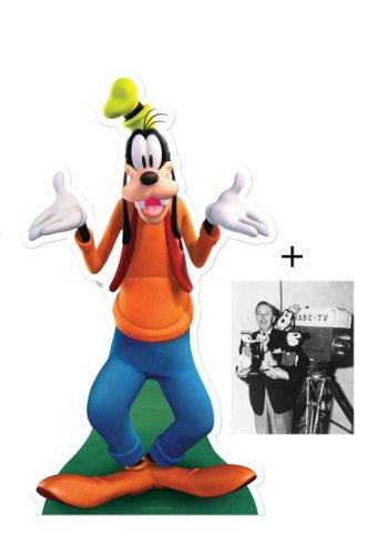 FAN PACK - Goofy (Disney) LIFESIZE CARDBOARD CUTOUT (STANDEE / STANDUP) - INCLUDES 8X10 (25X20CM) STAR PHOTO - FAN PACK #331