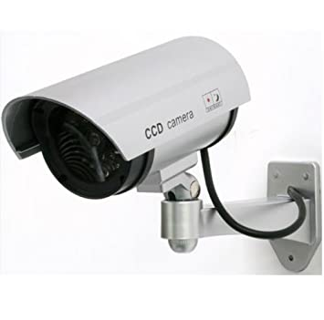 Cámara de vigilancia falsa Fake Dummy Security Camera luz LED infrarrojos