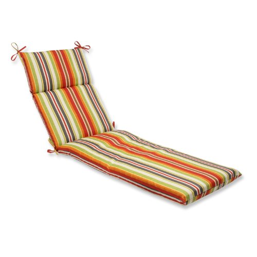 Pillow Perfect Outdoor Stripe Cushion