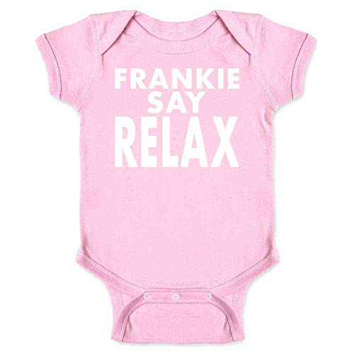 Frankie Say Relax Classic 80s Pink 6M Infant Bodysuit