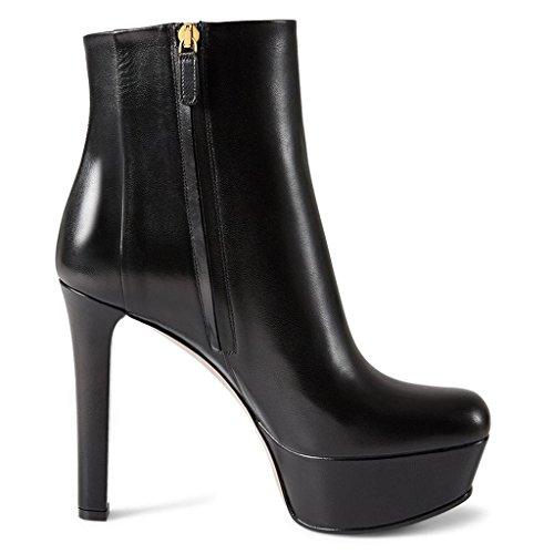 Bottes généreuses Bottes Dames amp;L Black Classiques L pour 8028FD Cortex de étanche Plateforme Chaussures Banquet Hautes Bottes Travail de nAZWnwx