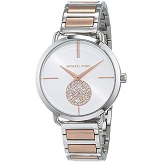 Michael Kors Damen Analog Quarz Uhr mit Edelstahl Armband MK3709 9