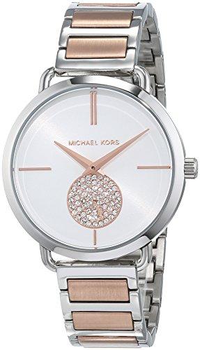 Michael Kors Damen Analog Quarz Uhr mit Edelstahl Armband MK3709 1