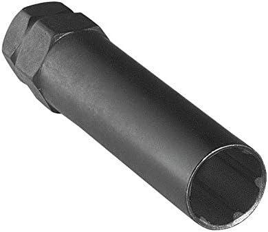 CECO デュプレックススプラインドライブキー (ロング) 7スプラインデュアルヘックス13/16インチ & 7/8インチ (23.2mm) スプラインクローム&カラーライトトラック車両取り付けキット。