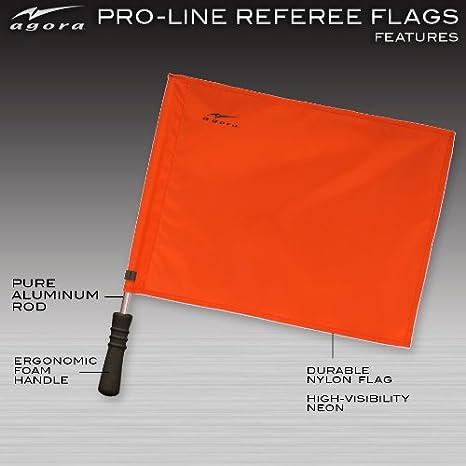 Amazon.com: Agora Pro Line Premium regulación Soccer Árbitro ...